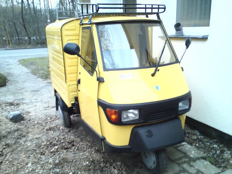 Ppizzalieferanteneiswagen